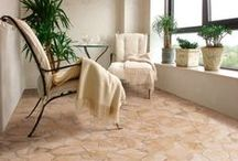 Medium Floor Tiles / Medium size tiles offer the greatest tile choice of colours and designs, and are a perfect option for bathroom and kitchen floor tiles.