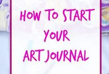 Art Journaling / Techniques, inspiration and layouts for your art journal. This board contains art journal backgrounds, art journaling tips, art journaling prompts and how to start your art journal.