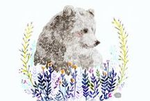 ʕ•ᴥ•ʔ Bear Art✧*・゚:* / BEAR LOVE