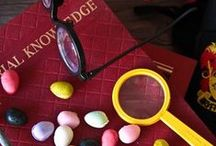 """Harry Potter: Crafts & Food / """"I solemnly swear that I am up to no good"""""""