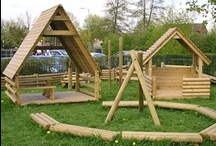 Play Houses / Our Play Houses are the ideal place to stop, rest and play whilst developing early social skills.