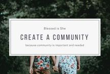 create a community / Ideas for building community and supporting women. Having a hard time making friends in your adult years? Don't know how to start that book club? Looking for a little more sisterhood? We have you covered, lady. Put on some music, whip up some appetizers, and start a friendship.