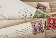 Snail Mail, Postcards and Stamps / by Stacey Brown