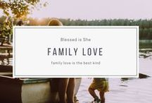 family love / What is family to you? Is it blood? Is it love? Is it those you care about? Is it a those you see at Christmas or the girls around your kitchen table? Whatever family is to you, we curated beautiful photography, articles on family living, relationship tips, and more.