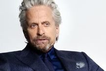 200 Steps - Michael Douglas / The Oscar-winning actor and producer, Michael Douglas, is the latest star to headline the 200 Steps male icon series on Canali.com.  / by Canali