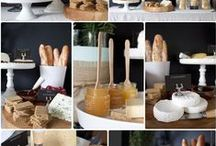 Food Decor / Containers, plating style
