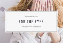 for the eyes / Art and design inspiration for those who are addicted to beauty.  We're organizing the best and most gorgeous of graphic design, illustration, watercolor and beyond...from wall hangings to iphone wallpaper. Beauty lives everywhere.