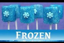 Frozen Party Ideas / Fun Frozen party treats - frozen inspired food