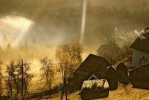 Old barns - Régi pajták