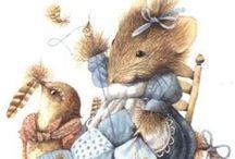 Vera the mouse § Marjolein Bastin