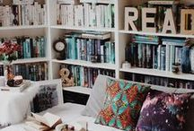 """◊ Bookshelves Ideas ◊ / """"A bookshelf is as particular to its owner as are his or her clothes; a personality is stamped on a library just as a shoe is shaped by the foot."""" ― Alan Bennett"""