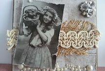 Petra's cards / My self-made scrap cards.