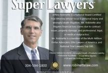 Our People / National Board Certified Trial Attorney Jeff Robinette, associates, and support staff.