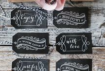 Crafts - Tags, Boxes, ...