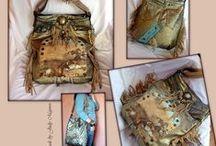 """RECYCLED BAGS - Handmade by Judy Majoros /  Majoros Judit Emília vagyok, a """"Judy Majoros"""" táskák megálmodója, és magalkotója. Nálam minden táska egyedi, kézzel készített, és újrahasznosított alapanyagokból készült. www.facebook.com/judymajorosdesign/"""