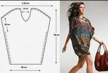 5.női ruha-szabásminták