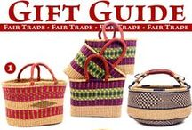 Gift Guide — Fair Trade Gifts / Explore an amazing collection of gift ideas, from baskets for everyday use to collector's items and beautiful home décor.