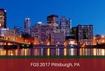 FGS 2017 - Pittsburgh / August 30 - September 2, Pittsburgh, Pennsylvania FGS 2017 National Conference — Pittsburgh will provide a wonderful historical backdrop with its rich genealogical resources for this four day genealogy event with local host Western Pennsylvania Genealogical Society. #FGS2017 #genealogy #familyhistory #gensocs