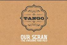 tango - menu items