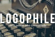 ❤️ Logophile ❤️ / I LOVE words. Like ALOT