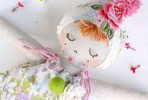 Handmade Dolls / Handmade dolls How to Sew A Doll Cloth Dolls Patterns Kids Room Decor Rag Dolls Dollmaking Softies Toys