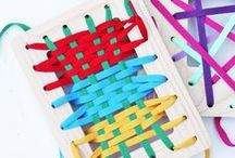 Simple Kids Craft Ideas / simple and accessible crafts for children to have fun exploring at home and at school