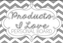 Products I Love / by Dianna Radcliff