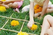 Summer Activities for the Kids / DIY Garden Games and Rainy Day Crafts and Games