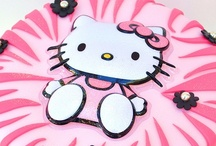 Hello Kitty Cakes / by Diana Marie