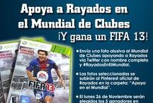 Apoyo en el Mundial / ¡Participa en  #RayadosEnElMundial y gana FIFA 13 X-Box 360! Forma de ganar: Por Repins reales (por persona) que sigan la cuenta de Rayados y la más creativa que considere el Consejo Rayado. * El Club de Futbol Monterrey se deslinda de la responsabilidad de derechos de autor de las obras, mismos que deberán pertenecer a los participantes. ** Ganadores presentarse con ID Oficial para recoger el premio. Si reside en EUA o México, fuera de Monterrey, se enviará por paquetería sin costo.
