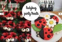 ♥Ladybug party/ Fiestas con Vaquitas de San Antonio♥