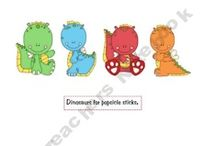 Dinosaurs ;) / short arms and ferocious  / by Maya Wright