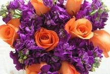 Wedding Bouquets Color Pop
