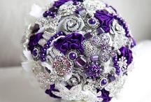 Wedding Bouquets Razzle Dazzle / by Kaitlin Kozlowski