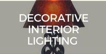 Decorative Interior Lighting / Customized/Unique decorative interior lighting to add special characters to your home.