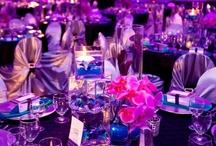 Wedding Receptions Pink & Purple