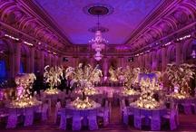 Wedding Receptions Purple