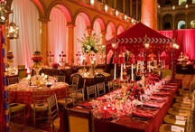 Wedding Receptions Red & Orange