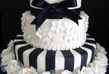 Wedding Cake Black & White / by Kaitlin Kozlowski