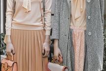 beige / fashion, winter, greige, soft