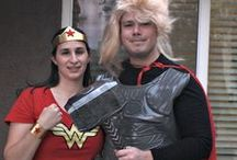 Super Hero Halloween / Lots of fun Super Hero ideas for Halloween and Super Hero birthday parties!