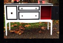 URBANCottage / Furniture refinished and painted by Aurora of URBANCottage / by Aurora Castellanos