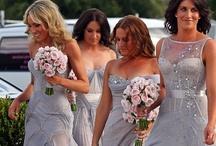 Wedding Bridesmaid Dresses Grey / by Kaitlin Kozlowski