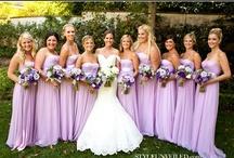 Wedding Bridesmaid Dresses Purple / by Kaitlin Kozlowski