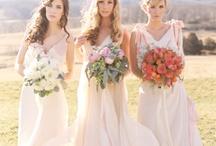 Wedding Bridesmaid Dresses Cream / by Kaitlin Kozlowski