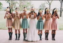 Wedding Bridesmaid Dresses Colorful / by Kaitlin Kozlowski