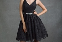 Wedding Bridesmaid Dresses Black / by Kaitlin Kozlowski