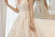 Wedding Bridal Gowns Bow & Flower