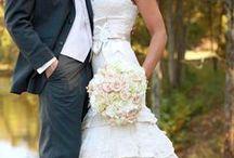 Wedding Bridal Gowns Lace / by Kaitlin Kozlowski