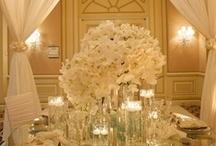 Wedding Centerpieces Whites, Creams, Ivories